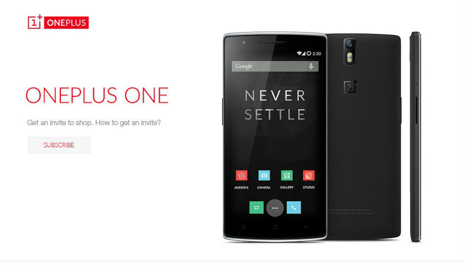 OnePlus One listed on Amazon India, no mention of CyanogenMod support