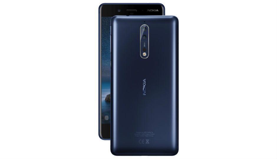 Nokia 8 with dual cameras and Snapdragon 835 launching in India o...