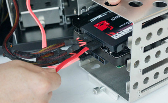 how to mount a ssd
