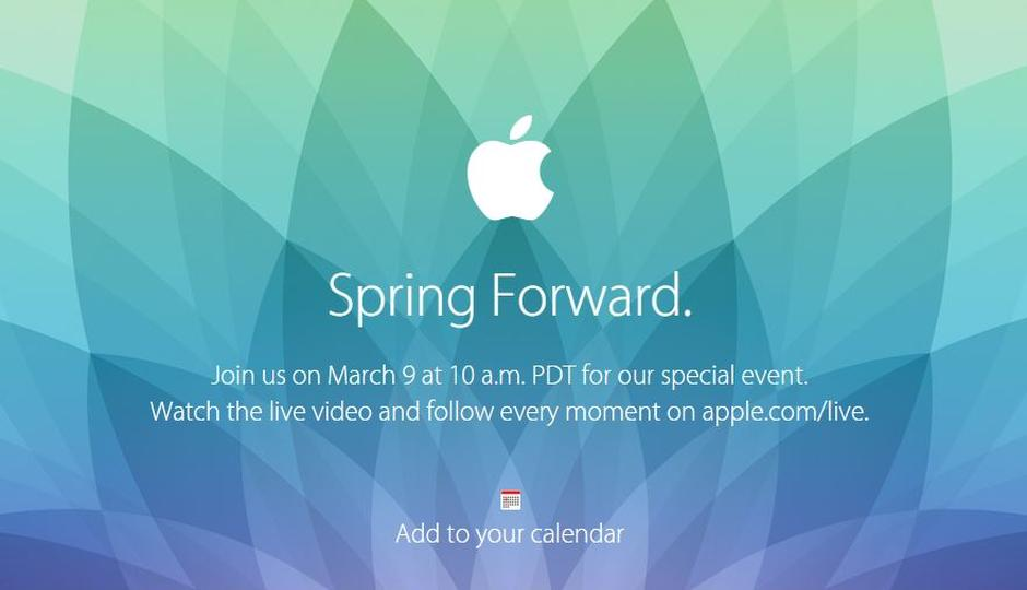 Apple Watch expected to be announced on March 9