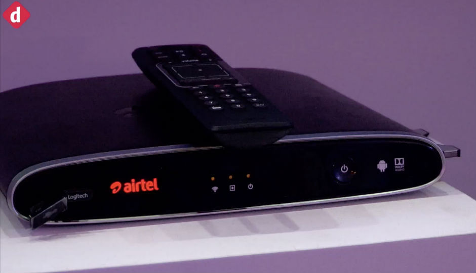 Airtel launches Android TV powered Internet TV set-top box starti...