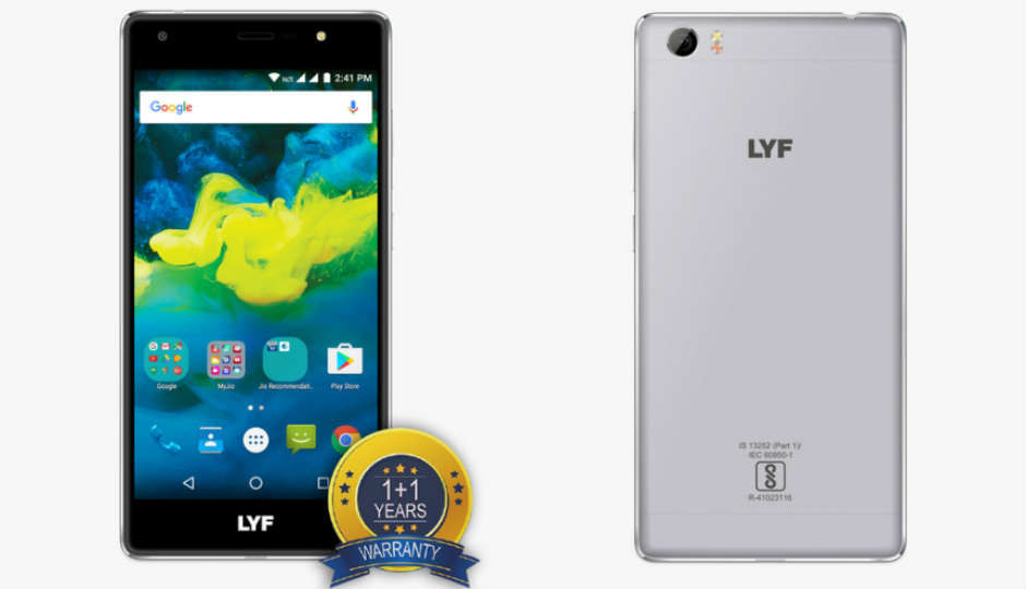 Reliance LYF F1S launched exclusively on AJIO at Rs 10,099