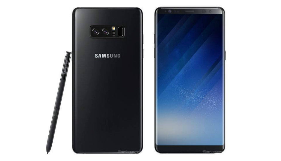 Samsung Galaxy Note 8 to launch in 256GB storage option to compet...
