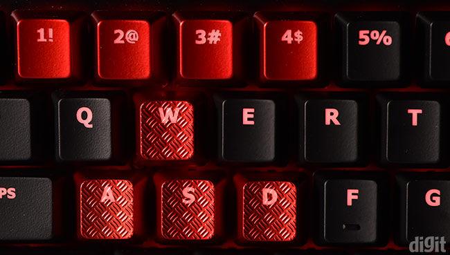 Kingston HyperX Alloy FPS keycaps