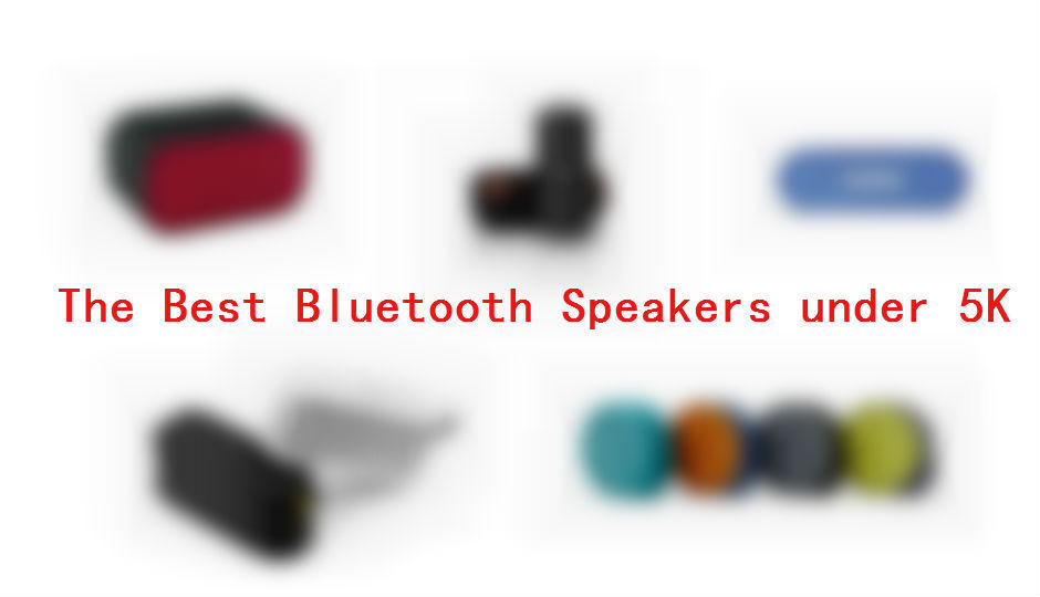 slide 1 the best portable bluetooth speakers under rs. Black Bedroom Furniture Sets. Home Design Ideas