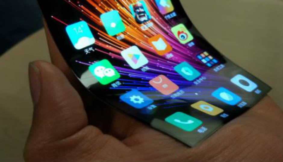 Xiaomi may be making a bendable smartphone