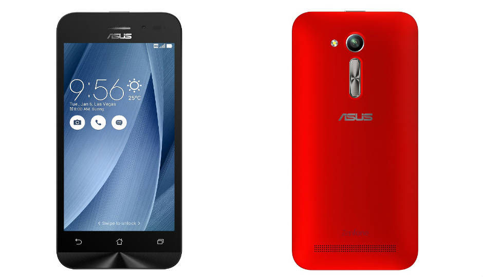 asus zenfone go 4 5 lte launched in india at rs 6 999. Black Bedroom Furniture Sets. Home Design Ideas