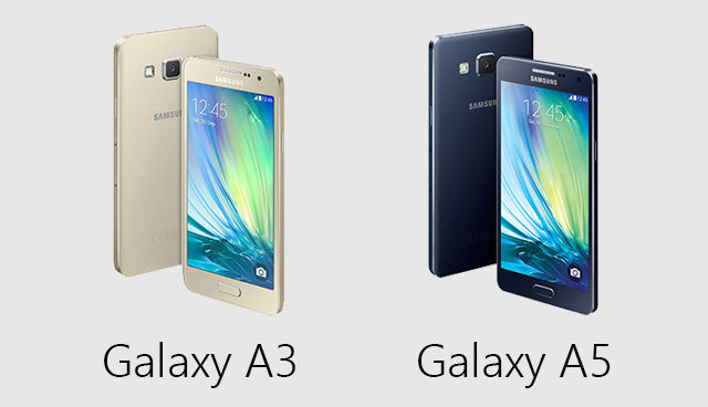 Samsung Galaxy A3 A5 E5 And E7 First Impressions