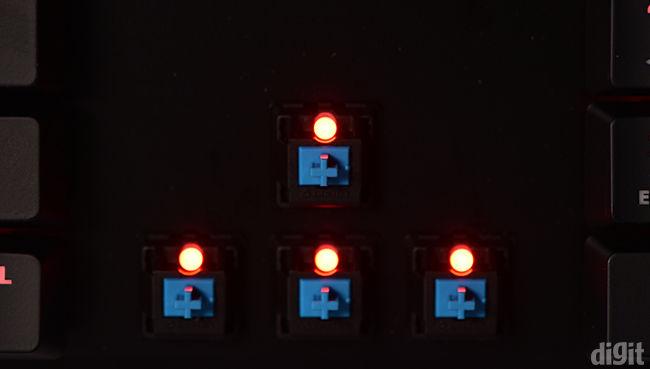Kingston HyperX Alloy FPS key switch