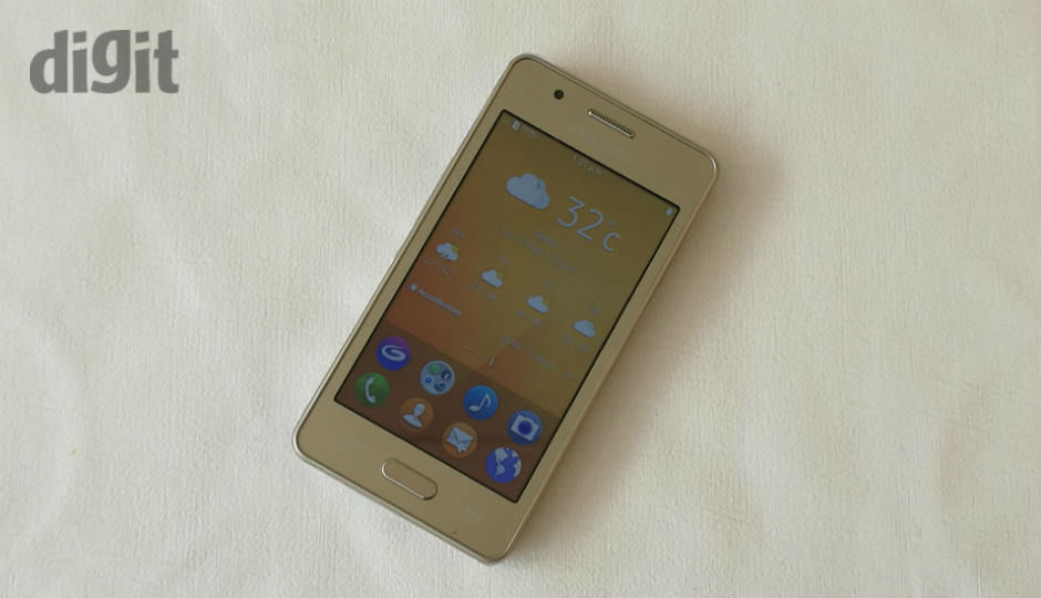 Samsung Z2 First Impressions Basic Utilities With 4G