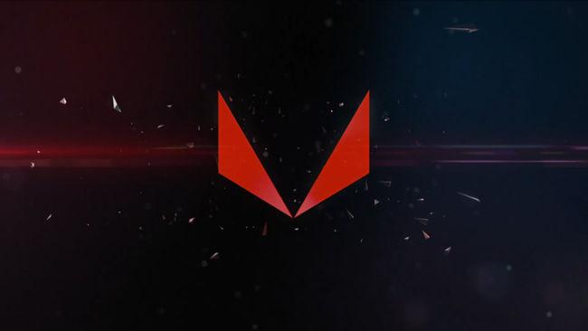 AMD RX VEGA Graphics Card GDC 2017 RX VEGA LOGO