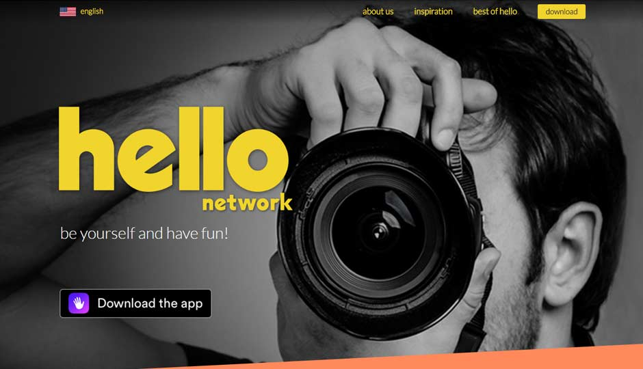 Hello is a new social network from the founder of Orkut