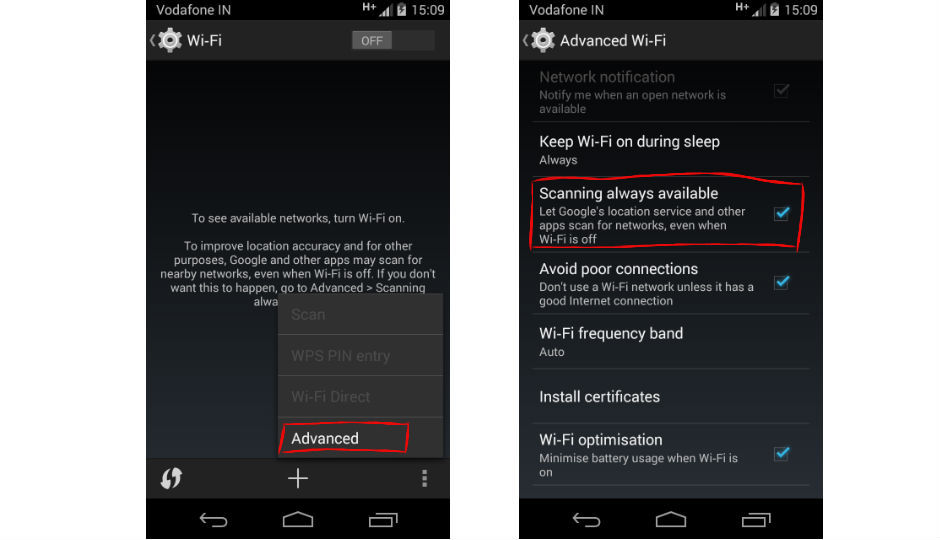 Things you didn't know about Android 4