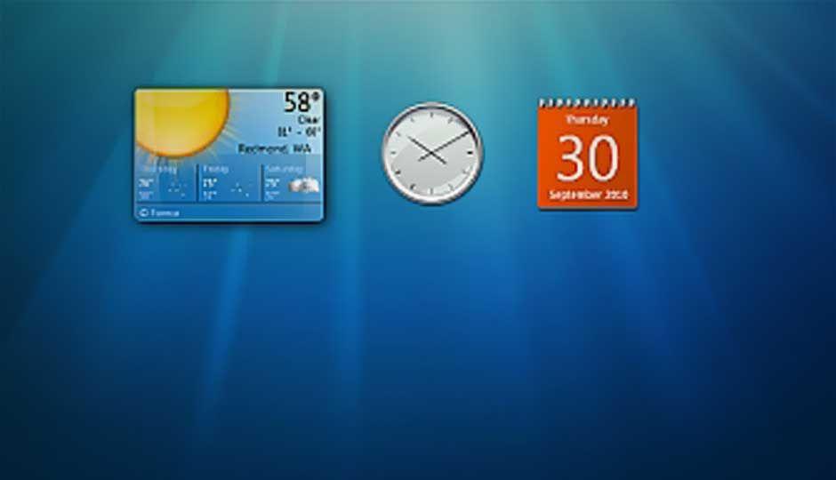 Windows 7 Desktop Gadgets could compromise your system Digit.in