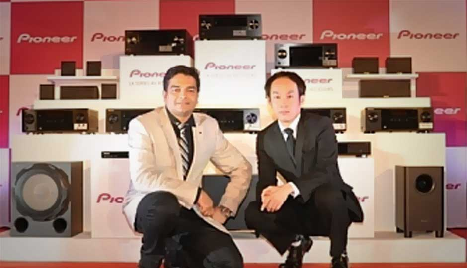 Pioneer India launches high-end AV receivers, and other home entertainment products