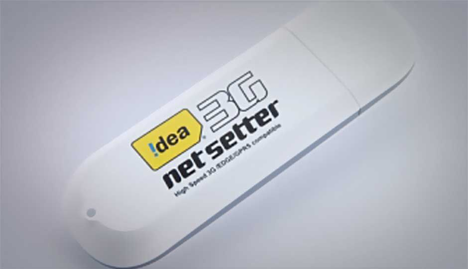 idea launches cloud based 3g dongle at rs 1 799. Black Bedroom Furniture Sets. Home Design Ideas