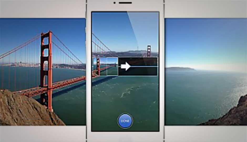 Как сделать панорамные фото на айфон