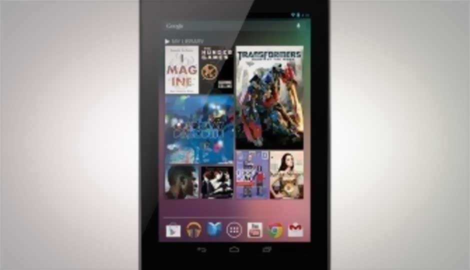 Google Nexus 7 tablet coming to India in November, Asus reveals