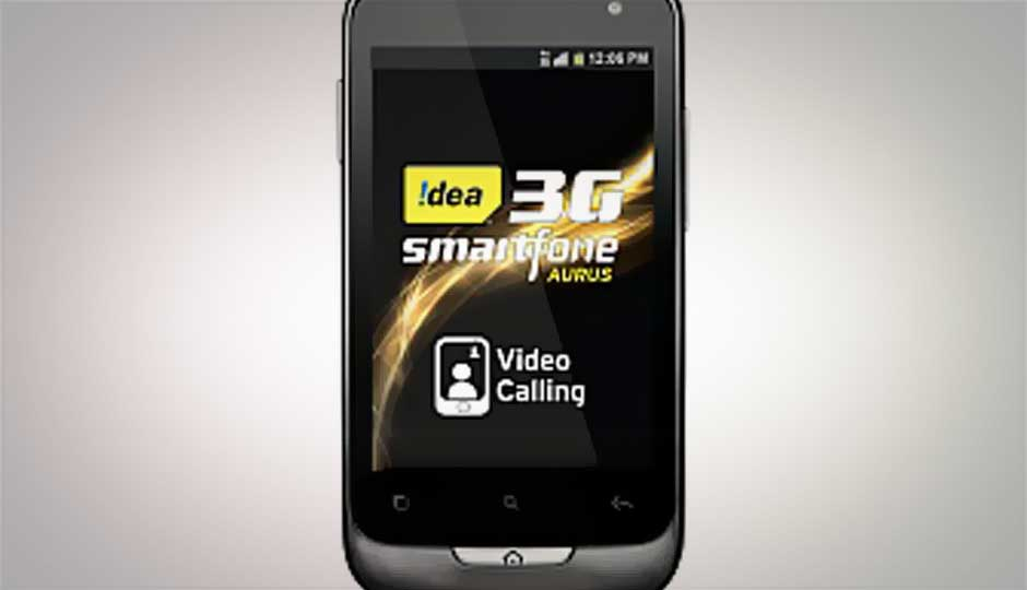 Idea introduces 'Aurus' 3G dual-SIM Android phone at Rs.7,190