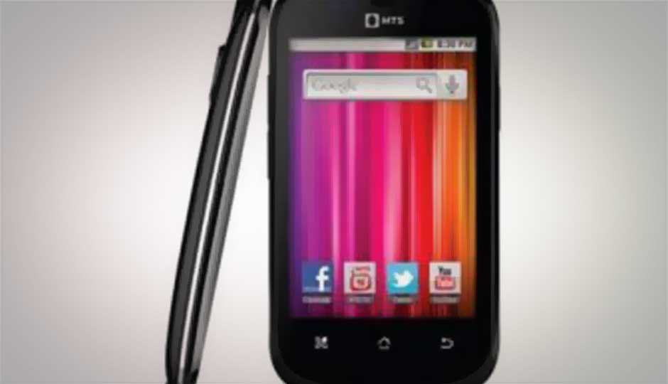 MTS launches 'MTag 353' Android-based CDMA phone at Rs. 5,999
