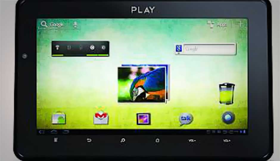 Mitashi launches ICS-based Play BE 100 tablet for Rs. 6,790