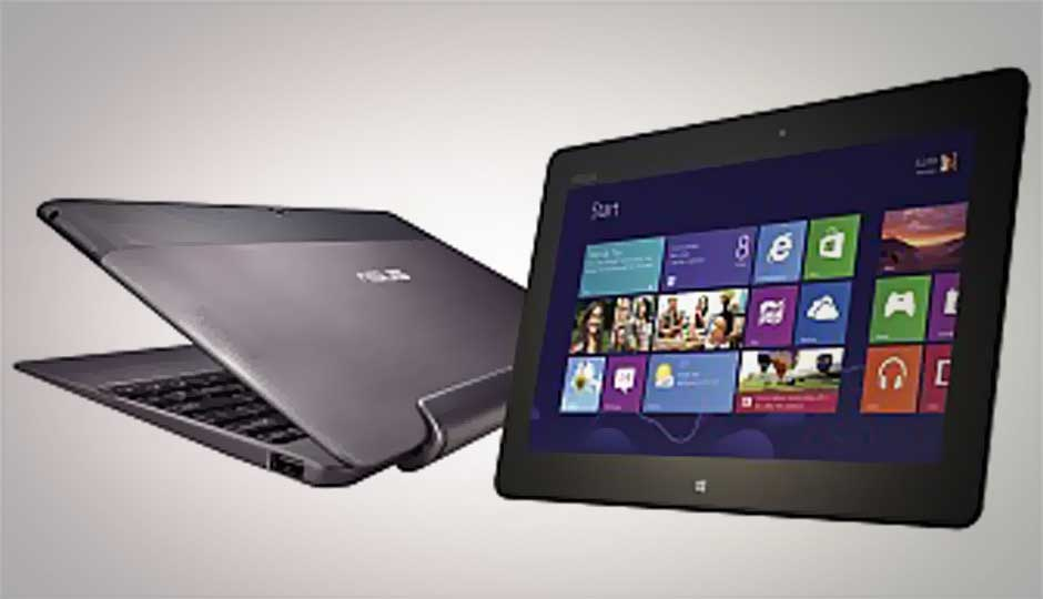 Asus launches Windows 8 touchscreen ultrabooks and hybrids in India