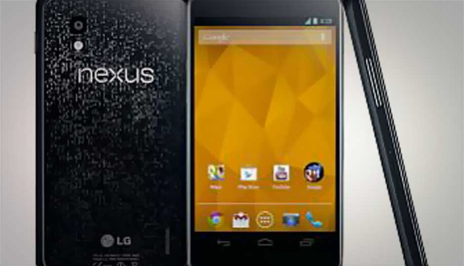 Google Nexus 4 goes out of stock in a matter of minutes