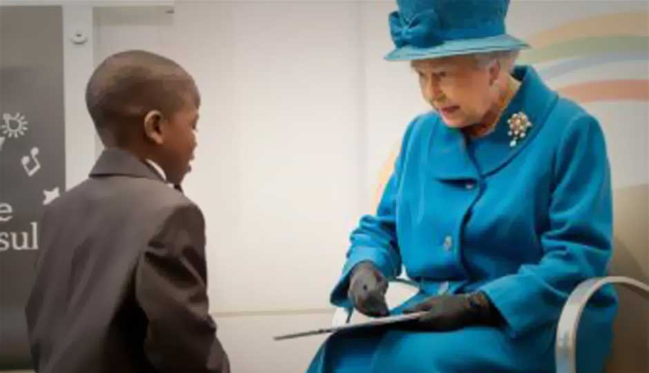 Samsung Galaxy Note 10.1 added to Queen's Royal Collection
