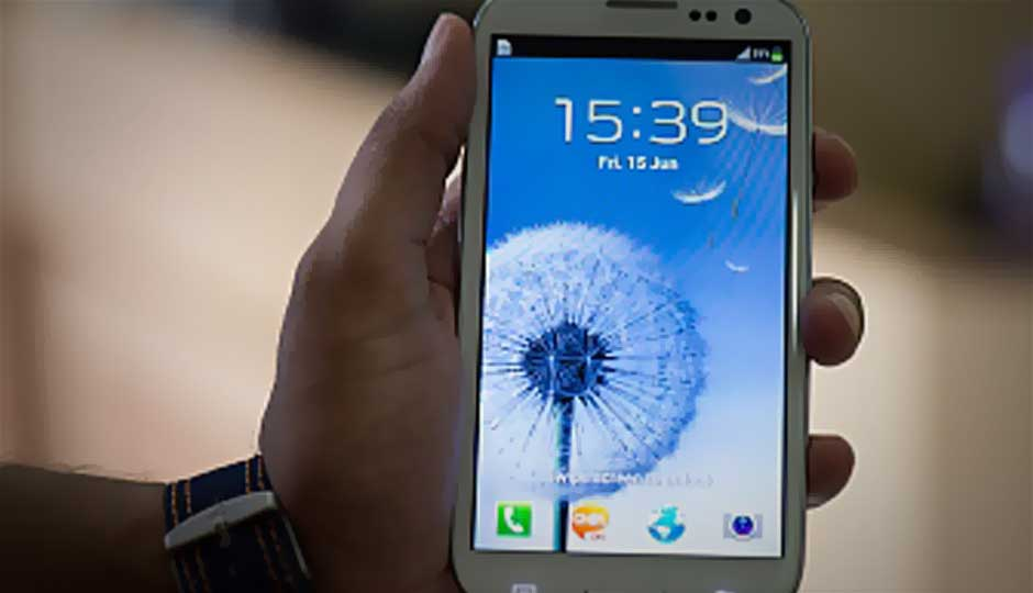 Android 4.1 Jelly Bean update for Galaxy S III suspended in India