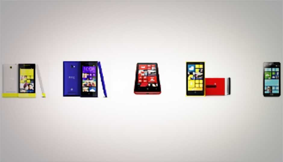 Top five Windows 8 phones compared