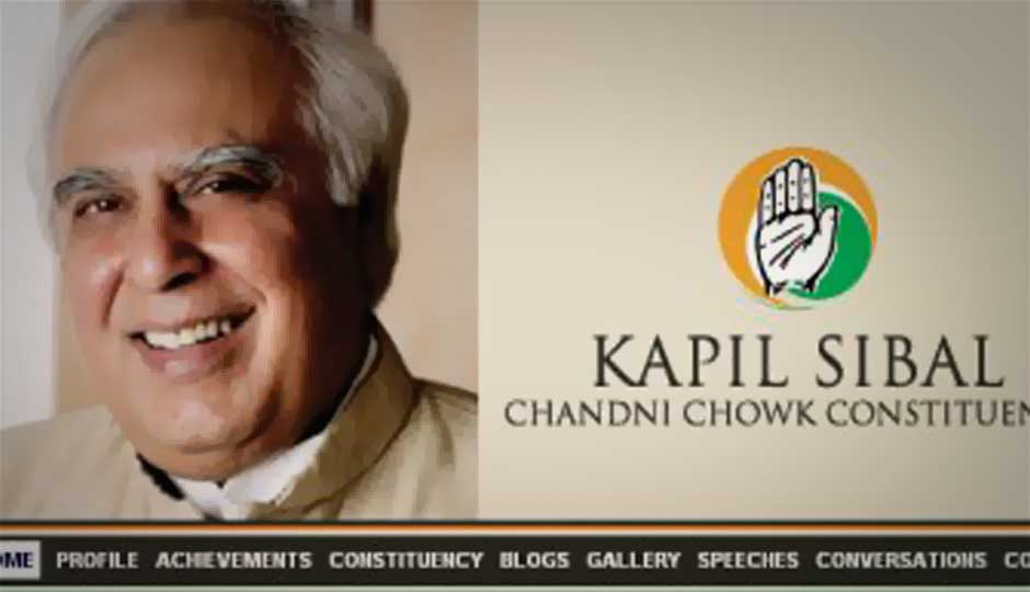 Anonymous India hacks Kapil Sibal's official website: Reports