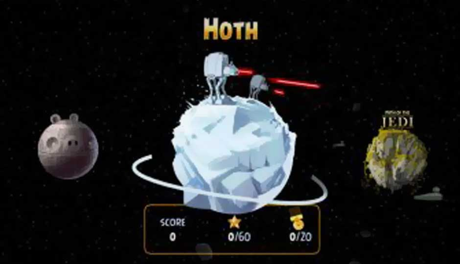 Hoth level now available for Angry Birds Star Wars, adds 20 new levels