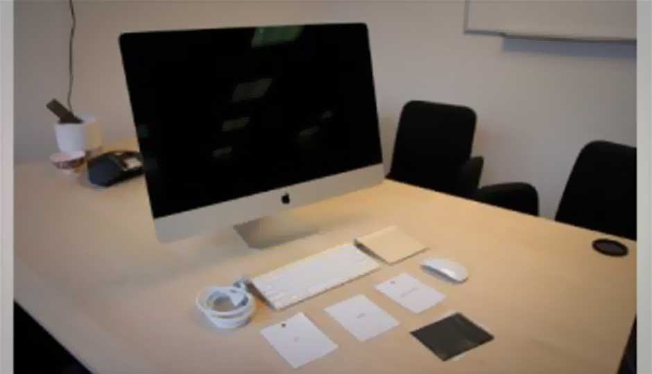 Unboxing the new 27-Inch Apple iMac