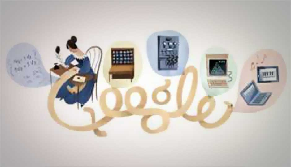 Ada Lovelace honoured with a Google Doodle on her 197th birthday