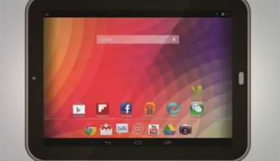 Karbonn launches Cosmic Smart Tab 10 Jelly Bean tablet for Rs. 10,490