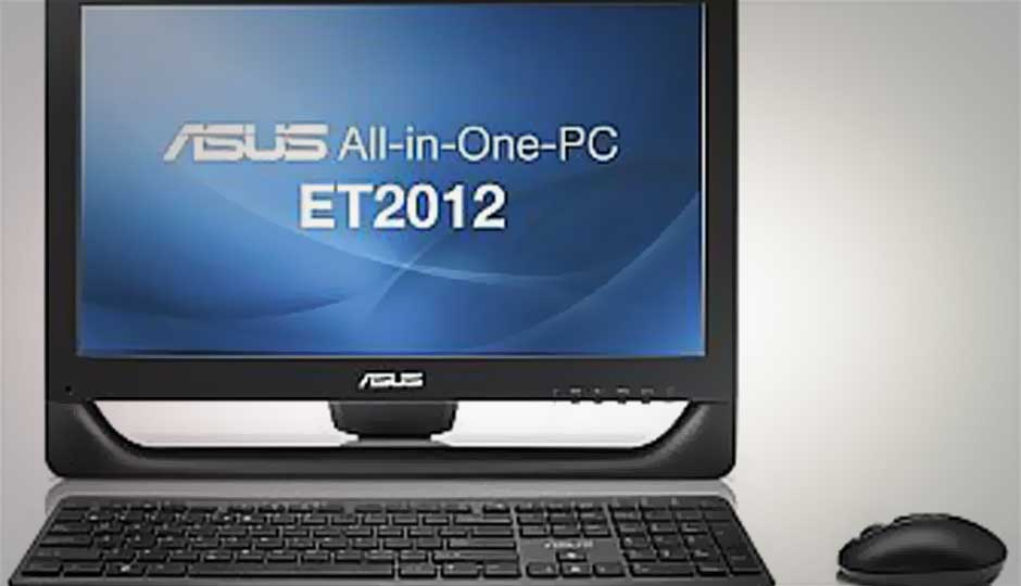 ASUS ET2012 IGTS: Bundled touch-enabled apps
