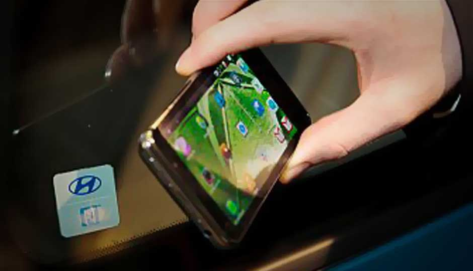 Hyundai demos mobile phone based entry system for cars, via NFC