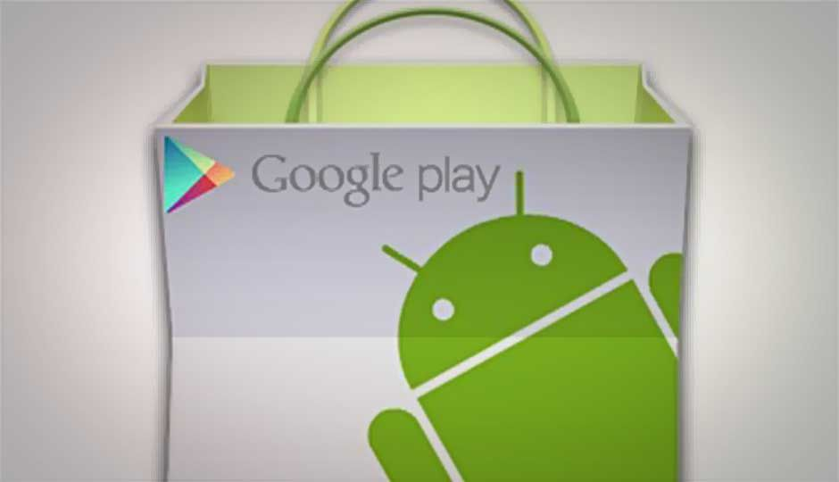 Google Play store lists 'Best Apps of 2012'