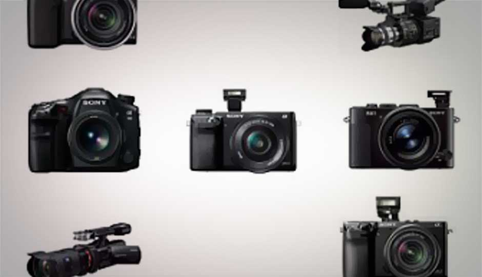 Sony India launches six cameras at CEIF 2013, including full-frame RX1