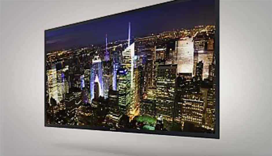 CES 2013: Sony shows off 56-inch 4K OLED TV prototype