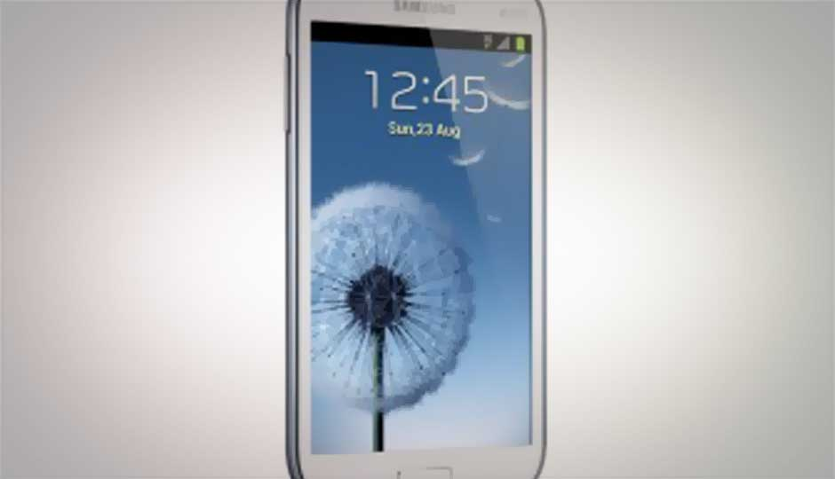Samsung announces dual-core 5-inch Galaxy Grand phablet at Rs. 21,500