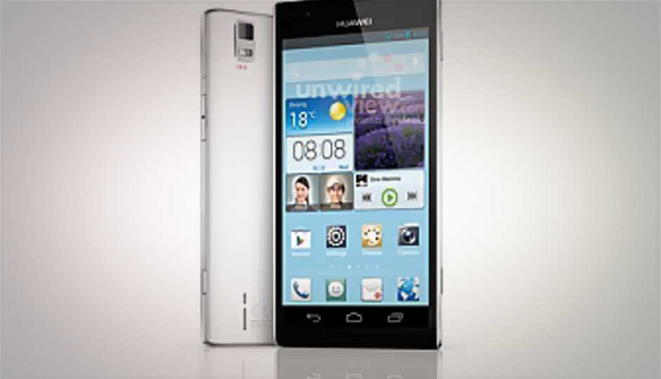 Leaked Huawei Ascend P2 product shots confirm 13MP camera ...
