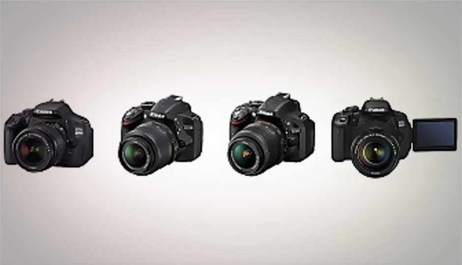 Four best budget DSLR cameras for beginners