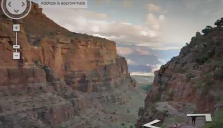 Google Maps adds panoramic images of the Grand Canyon