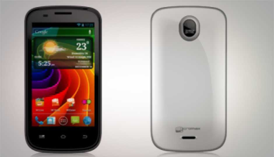 Micromax A89 Ninja available online for Rs. 6190