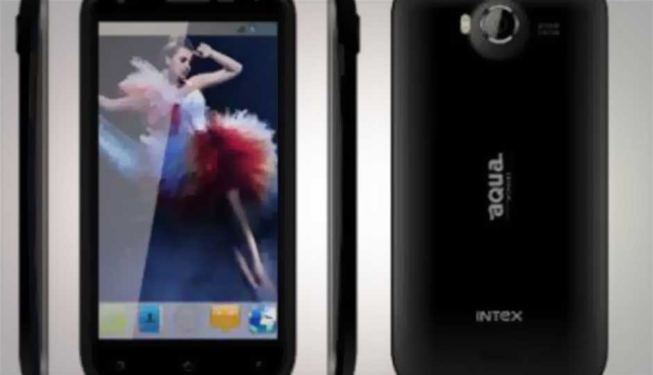 Intex launches Jelly Bean-based Aqua Wonder smartphone for Rs. 9,990