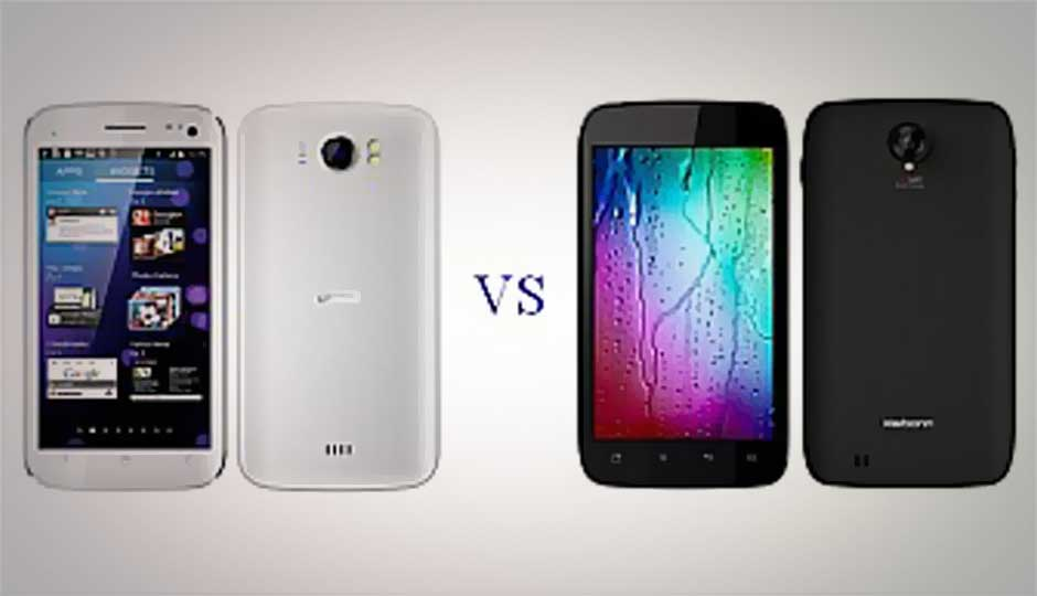Karbonn Smart A111 vs. Micromax Canvas 2 A110: Budget phablet face-off