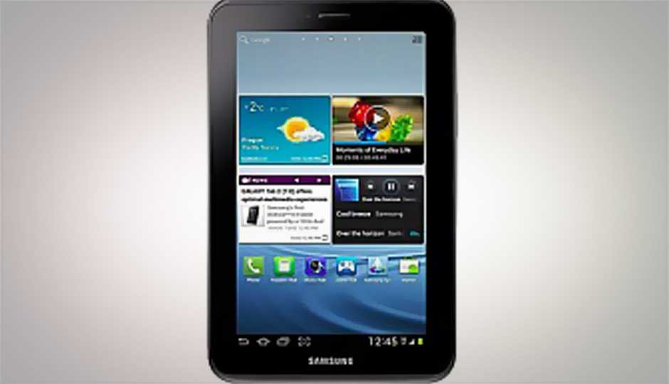 Samsung Galaxy Tab 2 311 (Wi-Fi only) launched at Rs. 13,900 with Jelly Bean