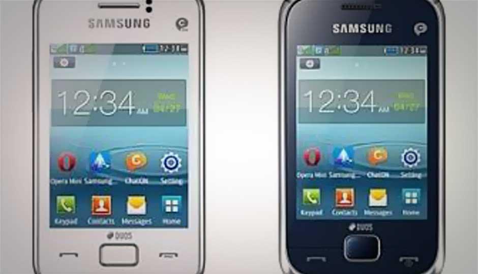 Samsung Rex 60, Rex 80 budget dual-SIM phones up for grabs online