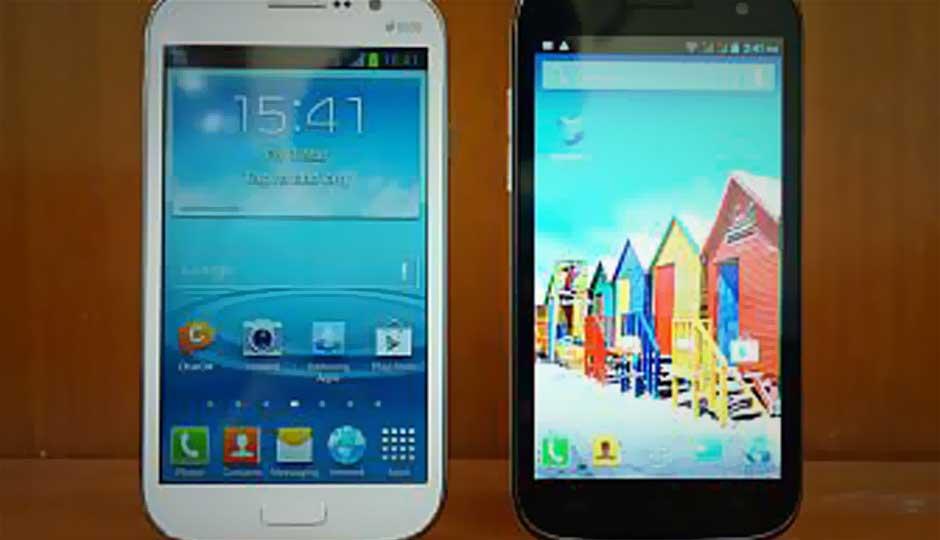 Micromax A116 Canvas HD vs. Samsung Galaxy Grand Duos: Performance Comparison